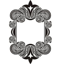 Pattern frame vector
