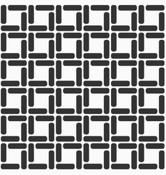 pattern with symmetric ornament vector image