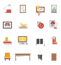 Room Single Icons vector image