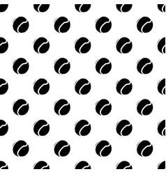 tennis ball pattern seamless vector image