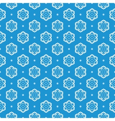 snowflake background vector image