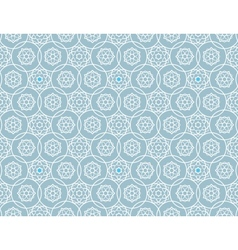 Background with islamic stars vector image