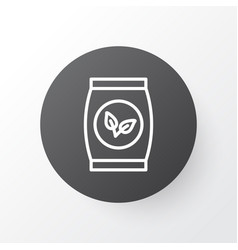 packet icon symbol premium quality isolated plant vector image vector image