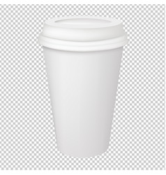 paper glass vector image vector image