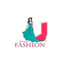 Fashion Logo Symbol vector image