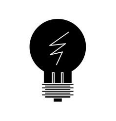 lamp line idea icon sign o vector image
