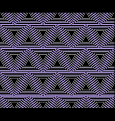 background abstract composed of purple triangles n vector image