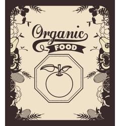 Farm fresh food design vector