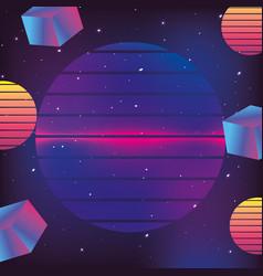 Geometrical futuristic backgrouns vector