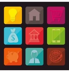 Global economymoney and business vector