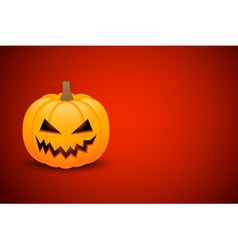 Halloween card or banner vector image