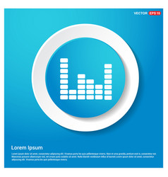 music sound wave icon vector image
