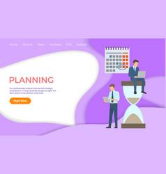 Planning professional analysis financial strategic vector