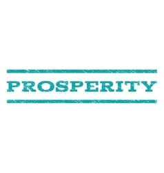 Prosperity Watermark Stamp vector