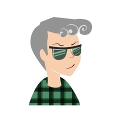 User man icon vector image