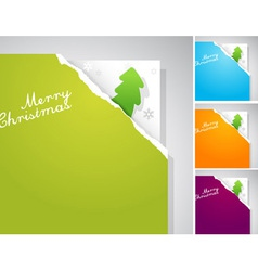 teared papers vector image vector image