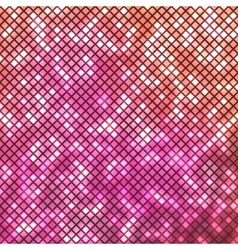 Abstract bright pink mosaic background vector image