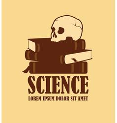 Science logo design vector