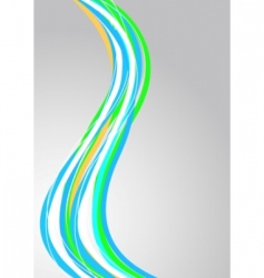 vector abstract striped background vector image