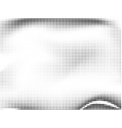 abstract halftone dotted background monochrome vector image