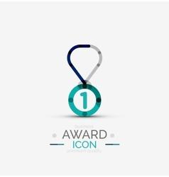 Award icon logo vector image