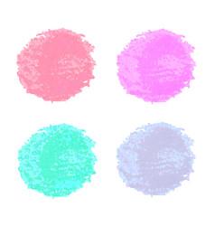 Colorful watercolor spots for design vector