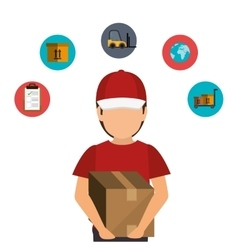 Fast shipping design vector