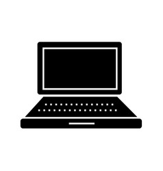 laptop simple icon sign o vector image