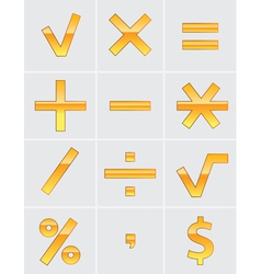 arithmetic vector image vector image