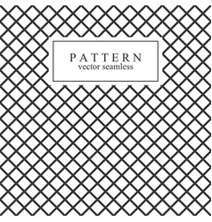grid seamless geometric pattern vector image vector image