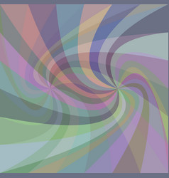 Double swirl background - design from rays in vector