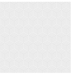 abstract soft gray hexagon background vector image