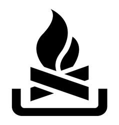 Campfire Symbol vector image