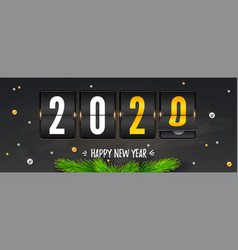 countdown to new year counting last moments vector image