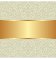 Decorative background with ornaments vector