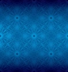 floral spiral background vector image