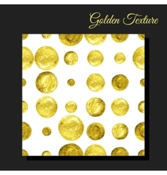 Golden glitter seamless background vector