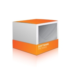 Software Package Box vector