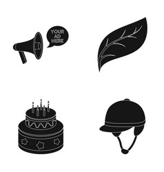 Racecourse cooking and or web icon in black style vector