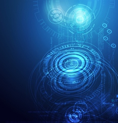 Techno3 vector image vector image