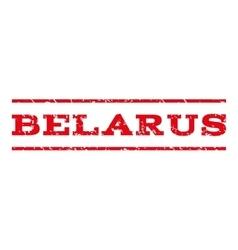Belarus Watermark Stamp vector image