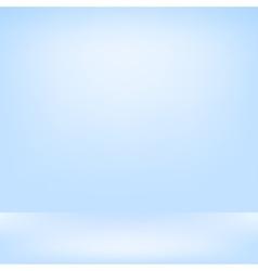 Blue studio backdrop Interior vector image