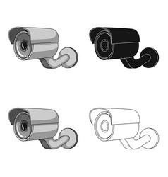 Camcorder single icon in cartoon stylecamcorder vector
