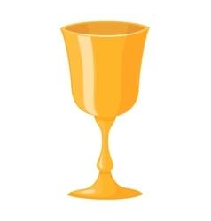 Jewish wine cup vector