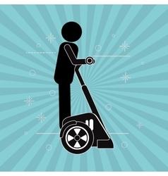 Segway icon design vector image