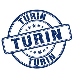 Turin stamp vector