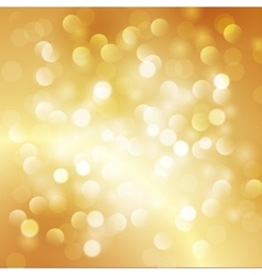 Christmas abstract gold background vector image vector image