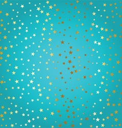 gold stars background 2709 vector image