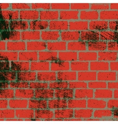 Messy Brickwall Texture vector image