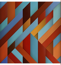 Color geometry Abstract modern abstract colorful vector image vector image